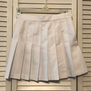 NWOT American Apparel Tennis Skirt - White
