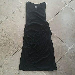 Maternity Black Tank Dress