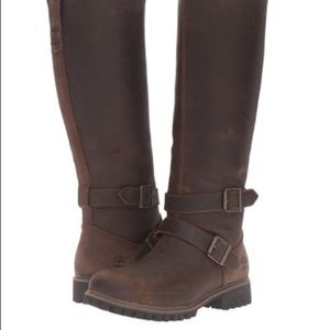 Timberland Women's Wheelwright Tall Buckle Boots