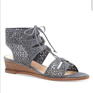 "Vince Camuto perforated 1"" heel"