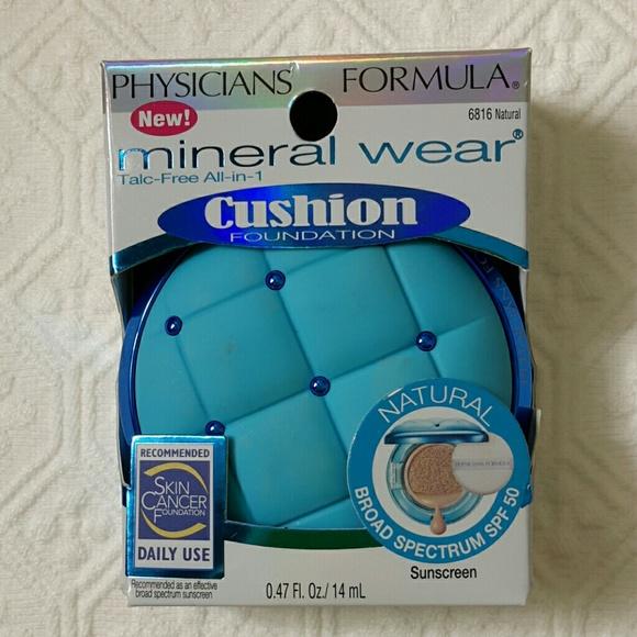 Physicians Formula Mineral Wear Cushion Foundation Nwt