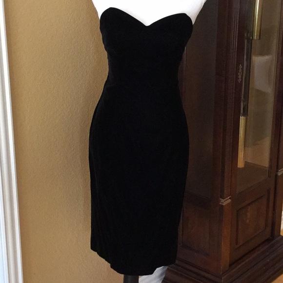 99e11e4c8f Karen Lucas for Niki Dresses   Skirts - Black Velvet Strapless Dress with  Bolero Jacket