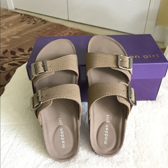 Madden Girl 2 Strap Footbed Sandal