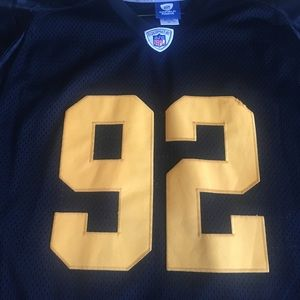 more photos 1e333 a02b1 Steelers Authentic Throwback James Harrison Jersey
