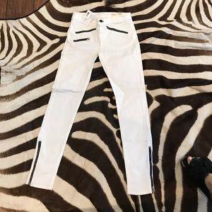 Brand new with tags rag & bone white skinny jeans