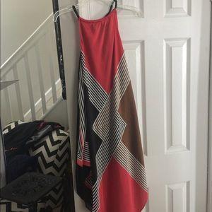 Rachel Rachel Roy handkerchief hem dress