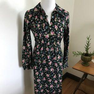 Vintage size medium floral dress