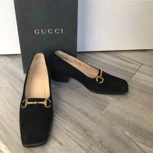 Authentic Gucci Velvet Loafer
