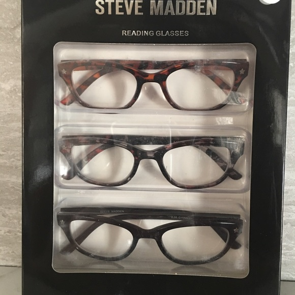 4e965edca8bd Steve Madden Accessories | 3 Reading Glasses 25 Nib | Poshmark