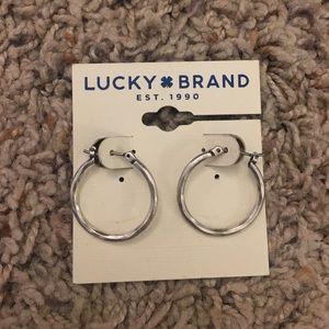 New Lucky Brand Hoop Earrings
