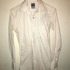 Other - modena fit cotton used long button down shirt