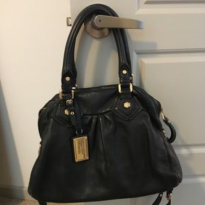 Marc Jacobs Black Shoulder Bag w/ Crossbody Strap