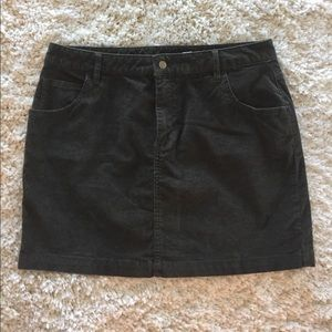 Olive green corduroy Urban Outfitters skirt, NEW