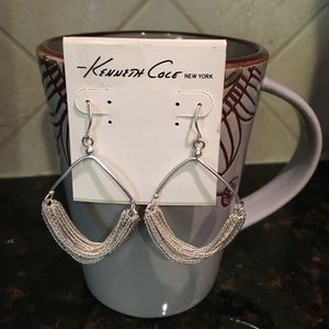 Kenneth Cole NY Silver Earrings