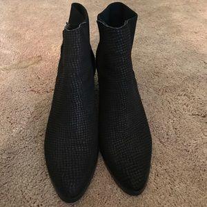 LF black booties
