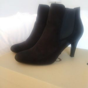 New Look ankle suede booties