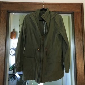 Army Green Fall Jacket NWOT
