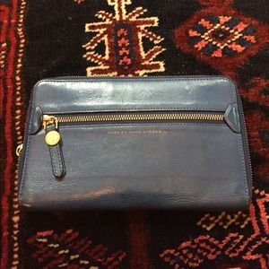 Indigo Marc by Marc Jacobs Leather Wallet - large