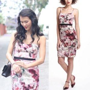 Moulinette Soeurs Hedgerow Floral Strapless Dress