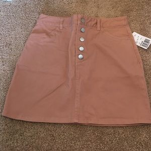 Mauve Jean skirt size S F21 *New with tags*