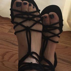 Nine West sandals size 8.5