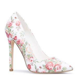 SHOE DAZZLE 'Elizabeth' Floral Heels
