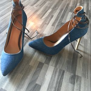 Brand New Denim Pumps