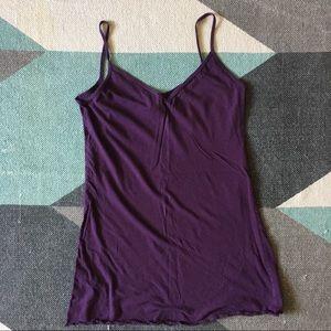 American Apparel purple sleep dress