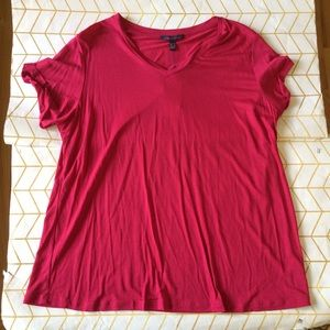 Violeta By Mango Pink Tee, XL