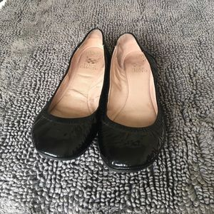 Vince Camuto patent leather flats, 9