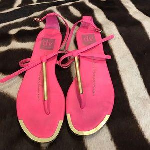 Dolce vita pink sandals