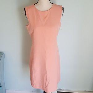 NWT Lands' End Coral Sheath Dress