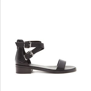 Forever 21 Faux Leather Strappy Sandal