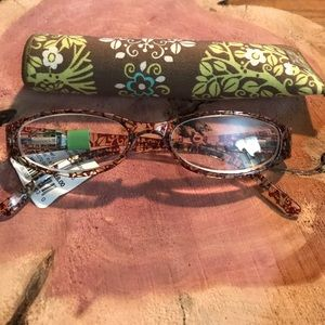 Vera Bradley NWT reading glasses and case