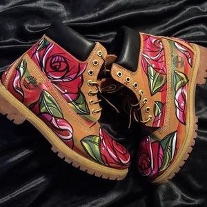 Other - Rose Bud 6-inch timberland boots