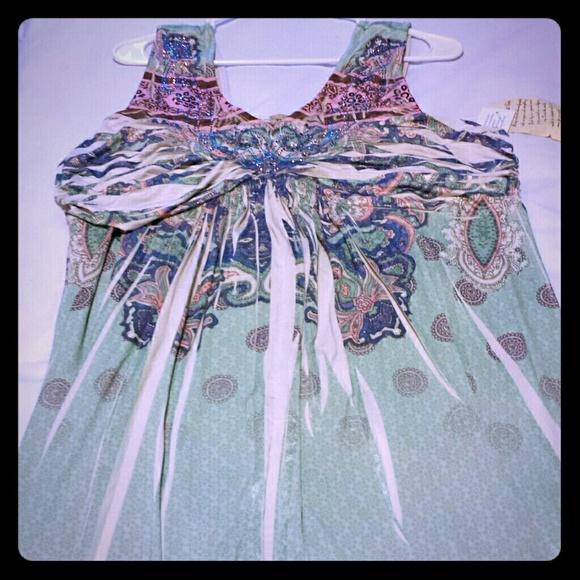 One World Maxi Dress - Plus Size NWT