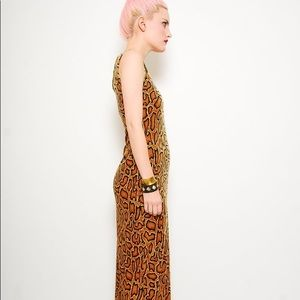 Dresses & Skirts - Bodycon cheetah maxi