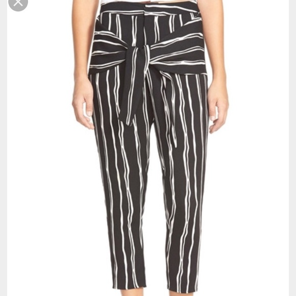 Nordstrom Pants - JOA Tie Front Trousers S