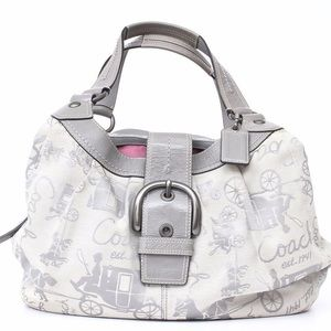 Coach Signature Horse and Carriage Maggie Hobo