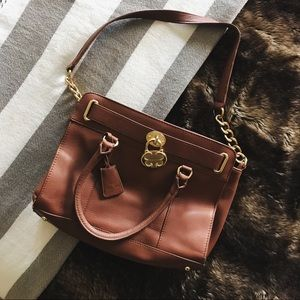 Emma Fox Brown Handbag