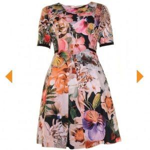 Ted Baker London Floral Dress Size 2