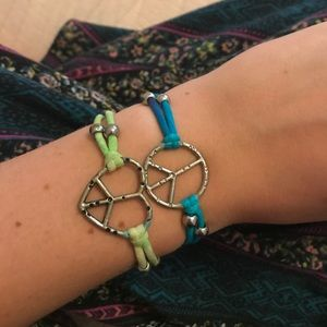 Jewelry - Peace and Love bracelets