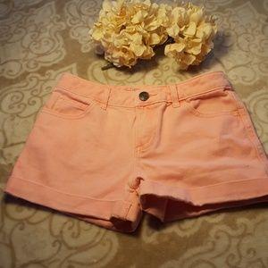 💟B2G1💟CHEROKEE girl denim pink SHORT💟