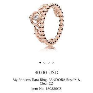 Pandora Jewelry - Pandora rose princess ring