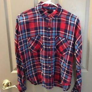 BDG Plaid Button Down Shirt