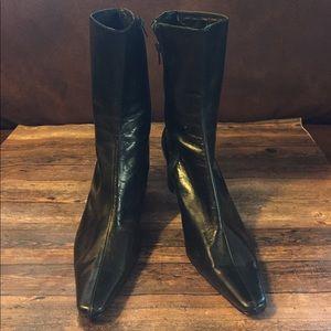 Nine West mid-calf black boots