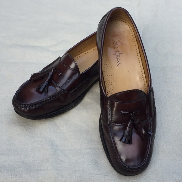 f8162464e54 Men s leather COLE HAAN Pinch grand tassel loafers