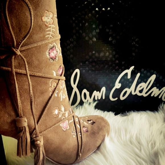 102915d5d Sam Edelman Winnie Ankle Boots