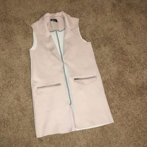 Topshop Longline Vest