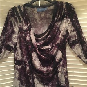 Simply vera feminine top new without tags